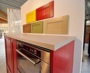 Küchenfronten: Verschiedene Muster.